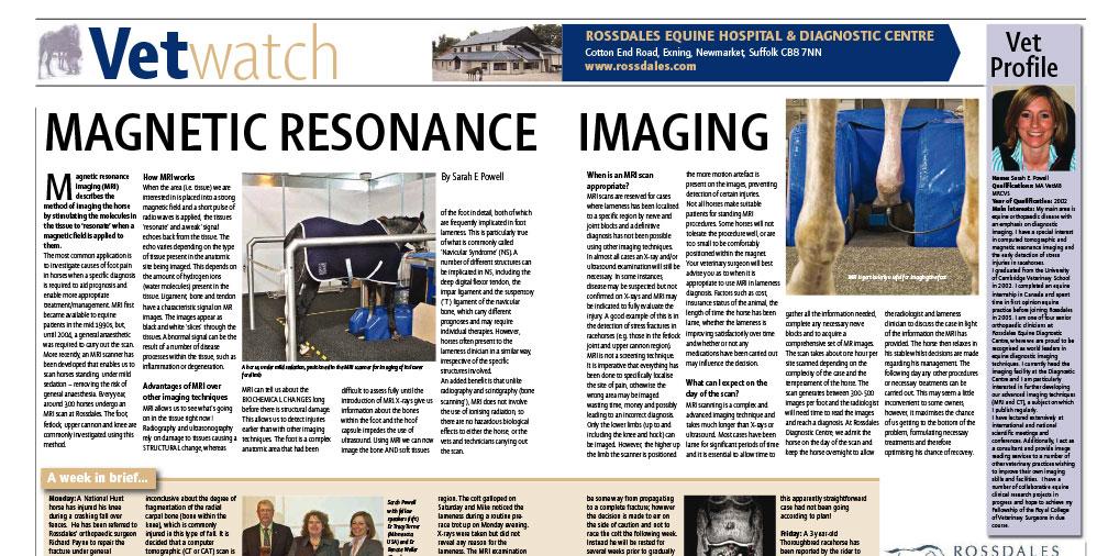 Magnetic Resonance Imaging
